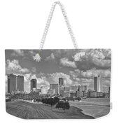 Skyline Of Fort Worth Weekender Tote Bag
