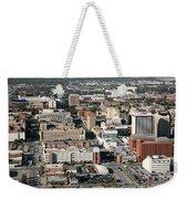 Skyline Of Lincoln Nebraska Weekender Tote Bag