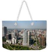 Skyline Of Milwaukee Wisconsin Weekender Tote Bag