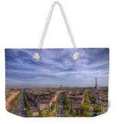 Skyline Of Paris Weekender Tote Bag