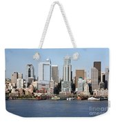Skyline Of Seattle Weekender Tote Bag