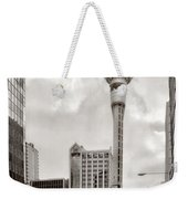 Sky Tower's Queen St Couple.nz Weekender Tote Bag