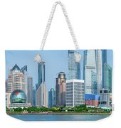 Skylines At The Waterfront, Oriental Weekender Tote Bag