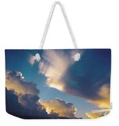 Skyscape - Puffy White Clouds Weekender Tote Bag
