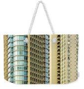 Skyscraper Closeup Weekender Tote Bag