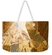Skyscrapers Reflection  Weekender Tote Bag