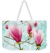 Skyward Magnolia Painterly 4 Weekender Tote Bag