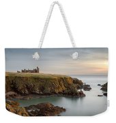 Slains Castle Sunrise Weekender Tote Bag