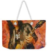 Slash Shredding On Guitar Weekender Tote Bag