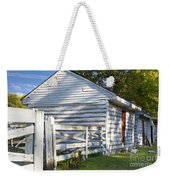Slave Huts On Southern Farm Weekender Tote Bag
