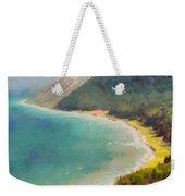 Sleeping Bear Dunes Lakeshore View Weekender Tote Bag