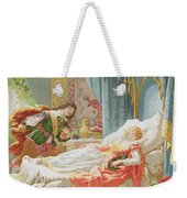 Sleeping Beauty And Prince Charming Weekender Tote Bag