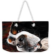 Sleeping Dogs Lie Weekender Tote Bag