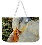 Sleeping Duck Weekender Tote Bag