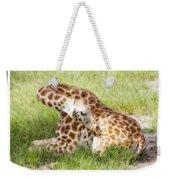 Sleeping Giraffe Weekender Tote Bag