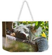 Sleeping Koala Weekender Tote Bag