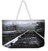 Sleeping On The Tracks Weekender Tote Bag