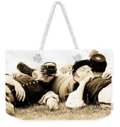 Sleeping Soldiers Weekender Tote Bag
