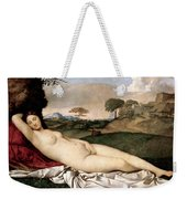 Sleeping Venus Weekender Tote Bag