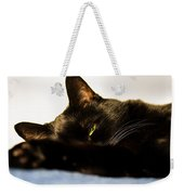 Sleeping With One Eye Open Weekender Tote Bag by Bob Orsillo