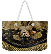 Sleepy Snake Weekender Tote Bag