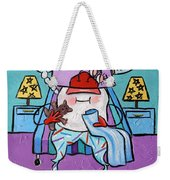 Sleepy Tooth Weekender Tote Bag by Anthony Falbo