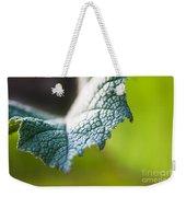 Slice Of Leaf Weekender Tote Bag