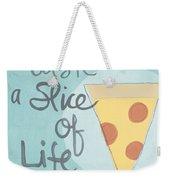 Slice Of Life Weekender Tote Bag