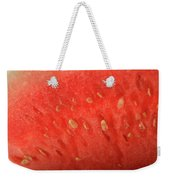 Slice Of Watermelon (detail) Weekender Tote Bag