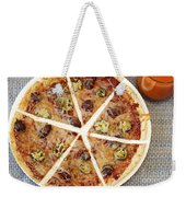 Sliced Tortilla Pizza Weekender Tote Bag