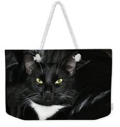 Slick The Black Cat Weekender Tote Bag