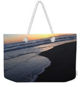 Sliding Down - Sunset Beach California Weekender Tote Bag