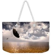 Slight Chance Of A Breeze Weekender Tote Bag