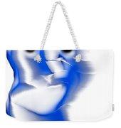 Slight Grin Weekender Tote Bag