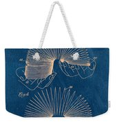 Slinky Toy Blueprint Weekender Tote Bag