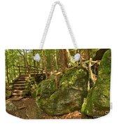 Slippery Rock Creek Bridge Weekender Tote Bag