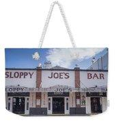 Sloppy Joe's Weekender Tote Bag