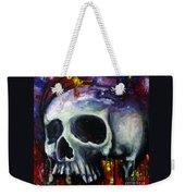 Sloppy Skull Weekender Tote Bag