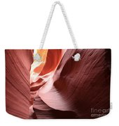 Slot Canyon Color Blend Weekender Tote Bag