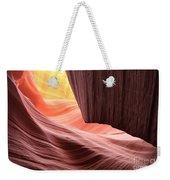 Slot Canyon Sun Weekender Tote Bag