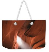 Antelope Canyon Sunbeam Weekender Tote Bag