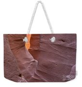 Slot In Palo Duro Canyon 110213.50 Weekender Tote Bag