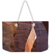 Slot In Palo Duro Canyon 110213.61 Weekender Tote Bag