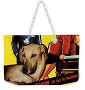 Sloughi Art - Love Is My Profession Movie Poster Weekender Tote Bag