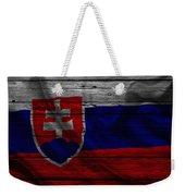 Slovakia Weekender Tote Bag