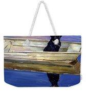 Slow Boat Weekender Tote Bag