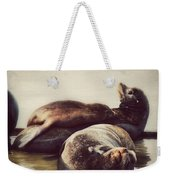 Slumbering On Mama Weekender Tote Bag