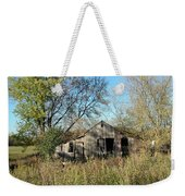 Small Abandoned Shed Weekender Tote Bag