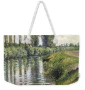 Small Branch Of The Seine At Argenteuil Weekender Tote Bag