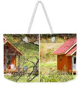 Small Cabin In Stereo Weekender Tote Bag